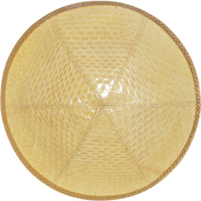 Snake Leather Kippah