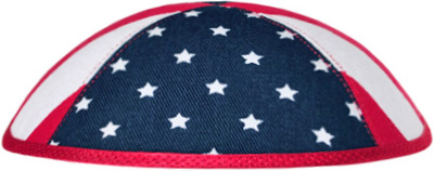 USA flag kippah