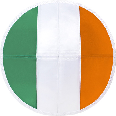 Ireland flag kippah